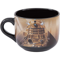 Vandor 16053 VN16053 Doctor Who 20-Ounce Ceramic Soup Mug,