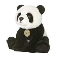 "Aurora World Miyoni 10"" Panda Bear"